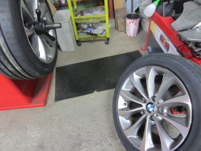 ランフラットタイヤ交換 BMW