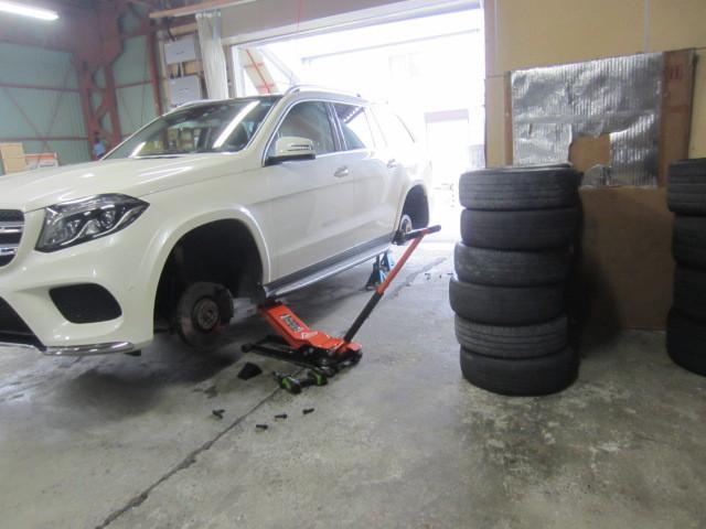 ベンツ GLS タイヤ交換
